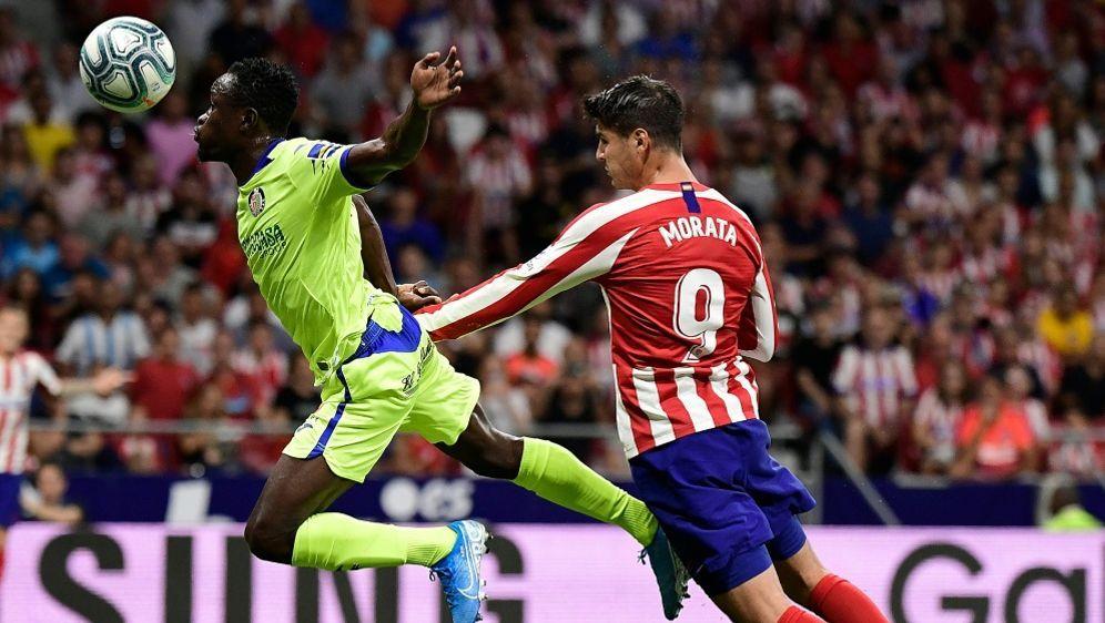 Alvaro Morata (r.) erzielte den Siegtreffer für Atletico - Bildquelle: AFPSIDJAVIER SORIANO