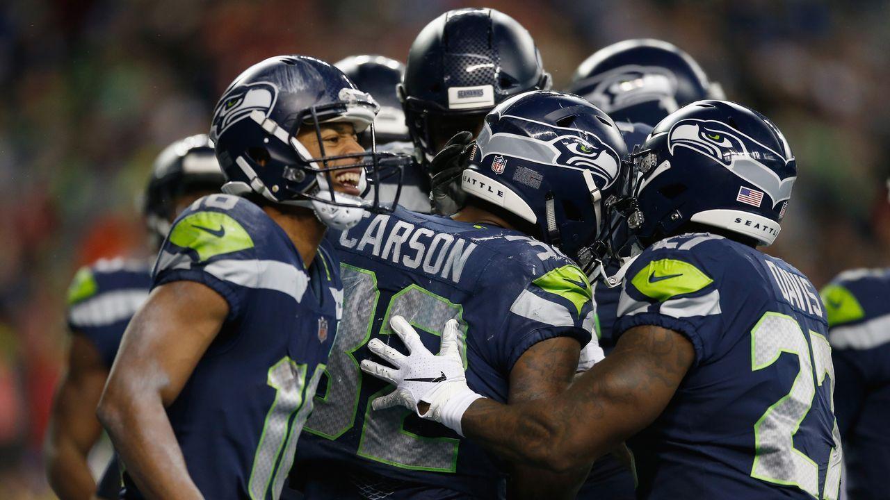 15. Seattle Seahawks - Bildquelle: 2018 Getty Images