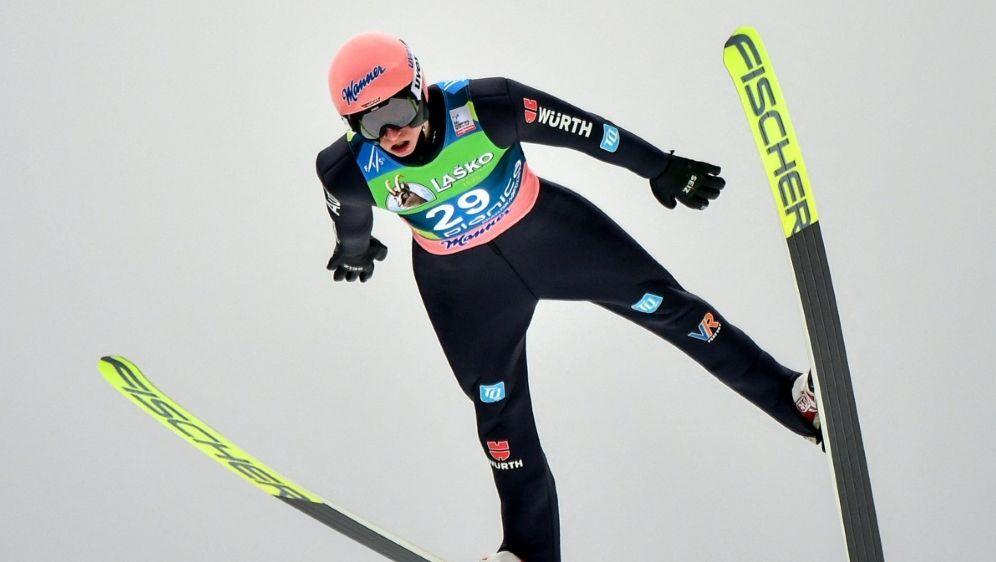 Karl Geiger hat noch Chancen auf den Sieg - Bildquelle: AFPSIDJURE MAKOVEC