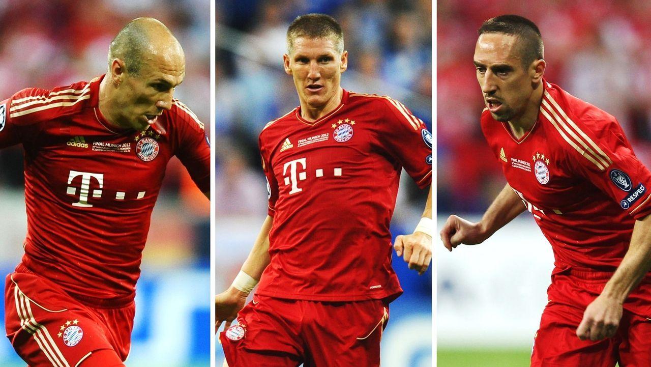 Champions-League-Finale 2012: Diese Bayern-Stars waren dabei - Bildquelle: 2012 Getty Images