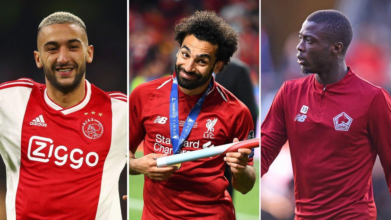 Diese internationalen Stars sind beim Afrika Cup 2019 dabei - Bildquelle: Getty images 2019