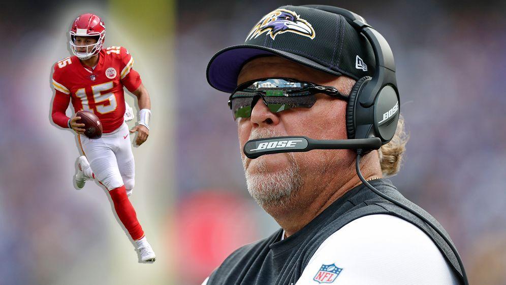 Seit 2018 der Defensive Coordinator der Ravens: Don Martindale - Bildquelle: Getty Images