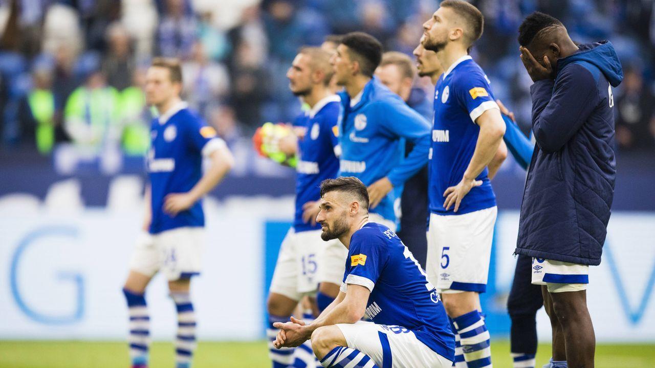 Relegation: Schalke muss sensationell runter! - Bildquelle: Imago