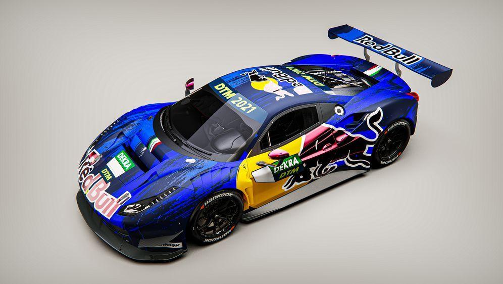 Red Bull feiert DTM-Comeback - im Ferrari