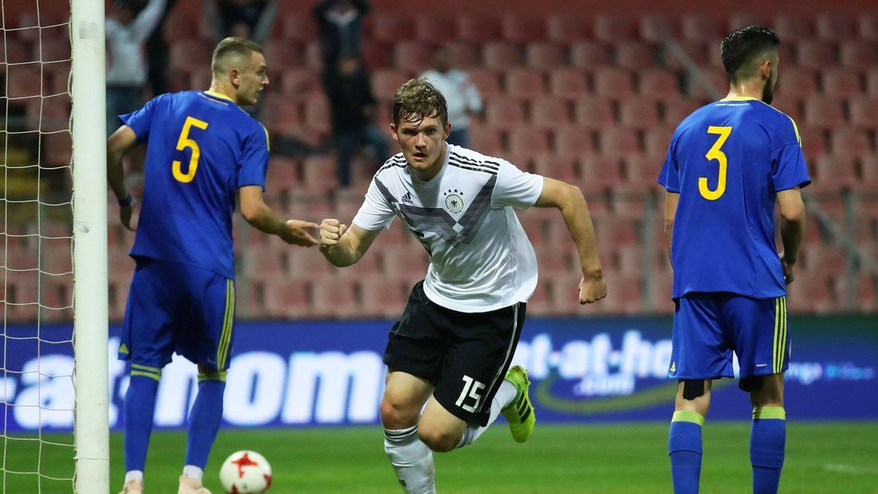 Arbeitssieg der DFB-Junioren in Bosnien - Bildquelle: 2019 Getty Images