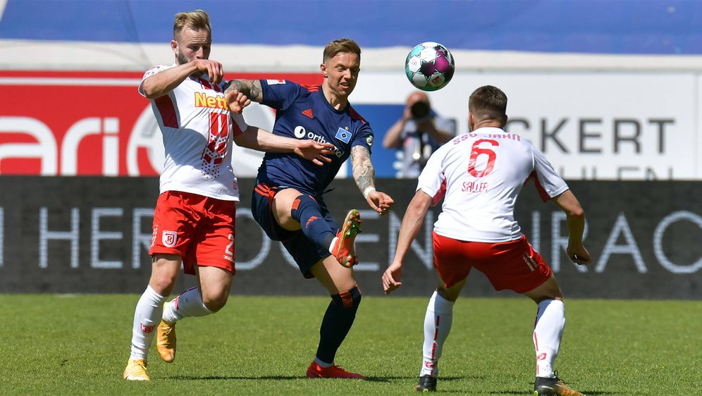 Der HSV holt im Aufstiegskampf nur einen Punkt - Bildquelle: Imago Images