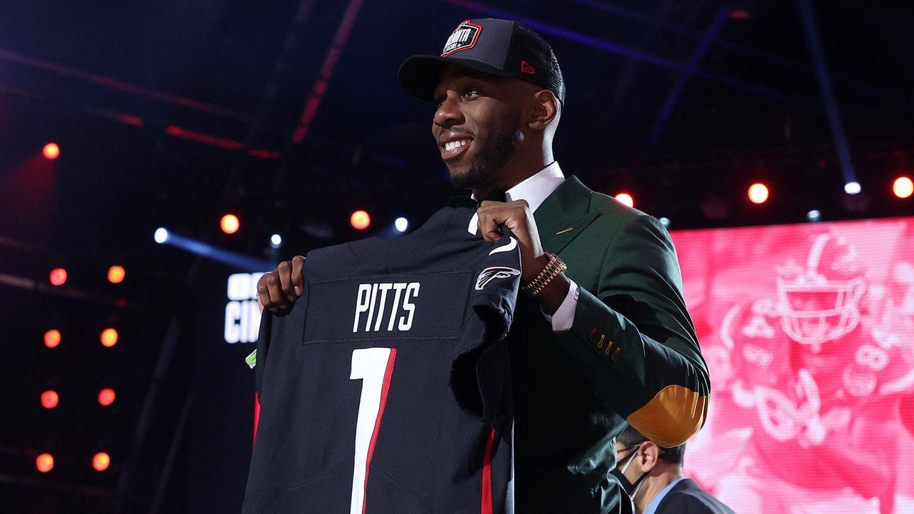 Kyle Pitts (Tight End/Atlanta Falcons) - Bildquelle: getty