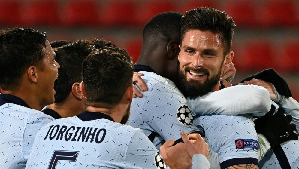 Girouds Treffer erlöst Chelsea - auch Sevilla ist weiter - Bildquelle: AFPSIDDAMIEN MEYER