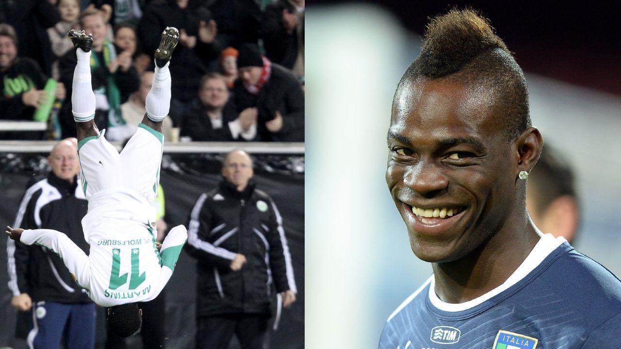 Mario Balotelli und Obafemi Martins - Bildquelle: Getty
