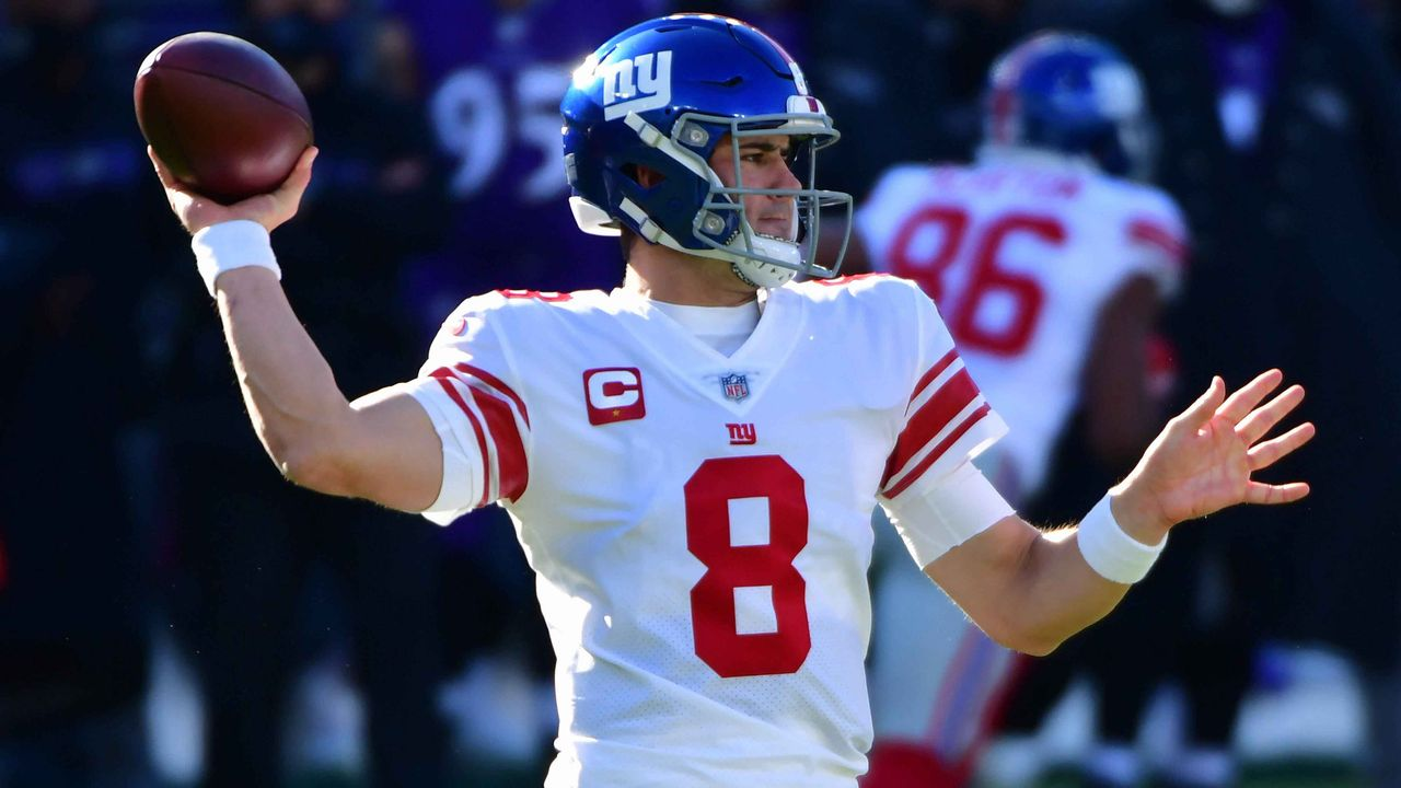 Daniel Jones (24, New York Giants) - Bildquelle: Imago Images