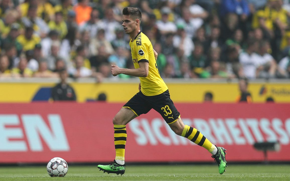 Platz 1: Julian Weigl (Borussia Dortmund)  - Bildquelle: 2019 Getty Images