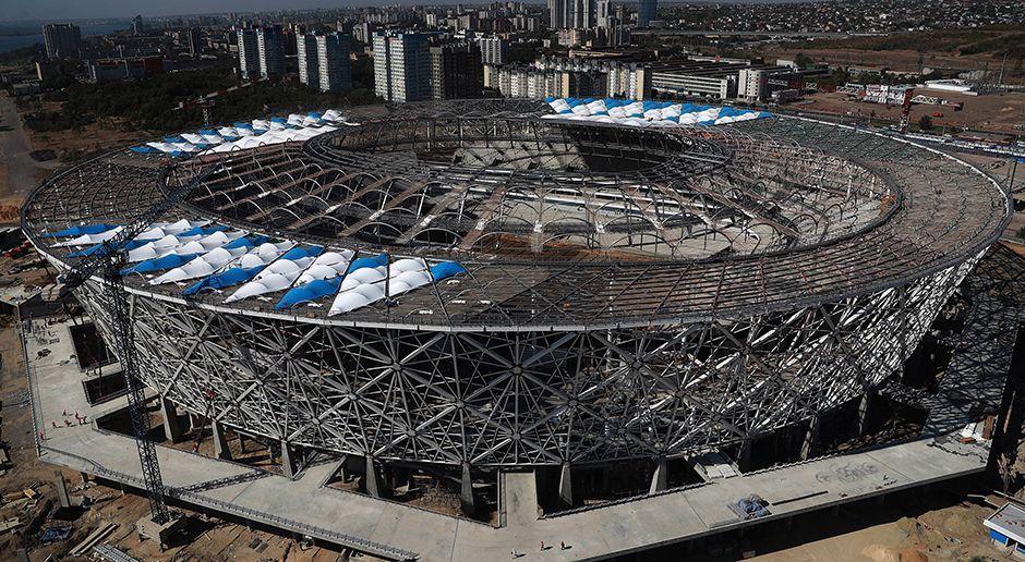 6. Wolgograd-Arena (Wolgograd) - Bildquelle: imago/ITAR-TASS