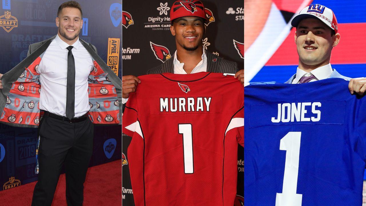 Das verdienen Erstrunden-Picks im Draft 2019 - Bildquelle: Getty