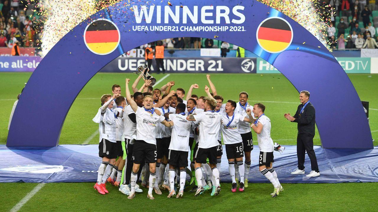 Prämie bei U21-EM Titel 2021 - Bildquelle: imago images
