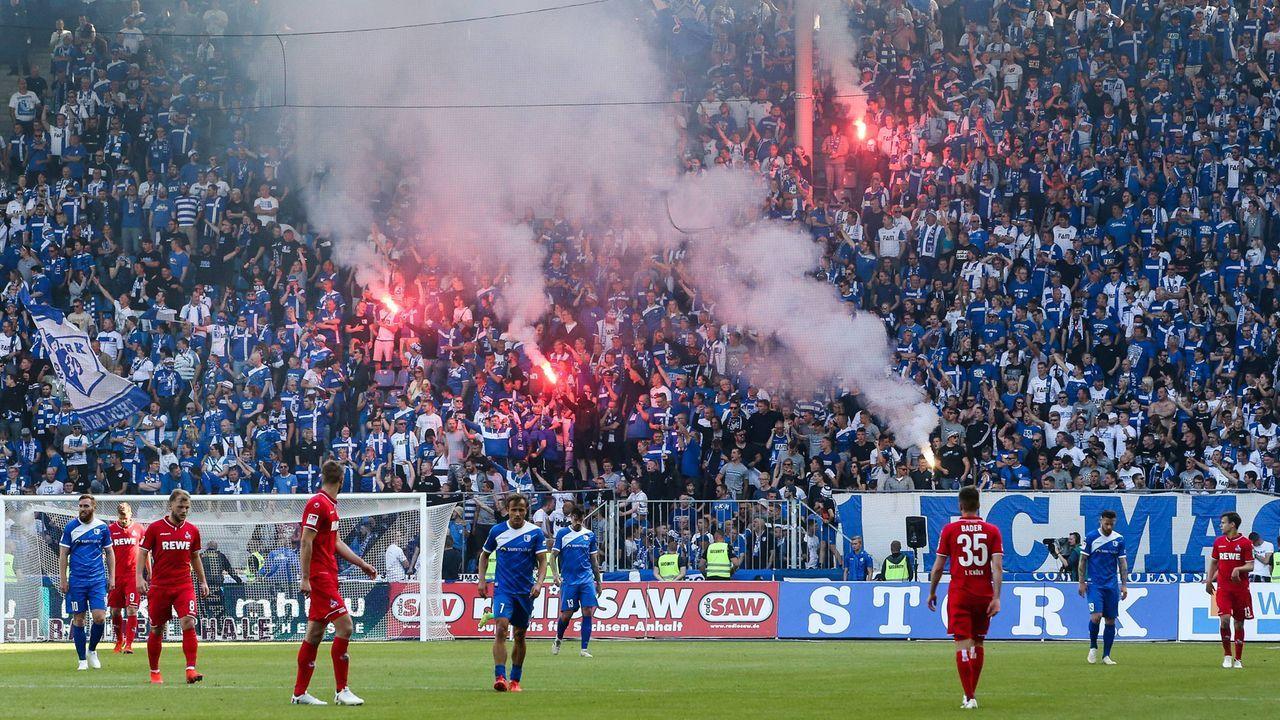 Platz 5: 1. FC Magdeburg - Bildquelle: imago images / Christian Schroedter