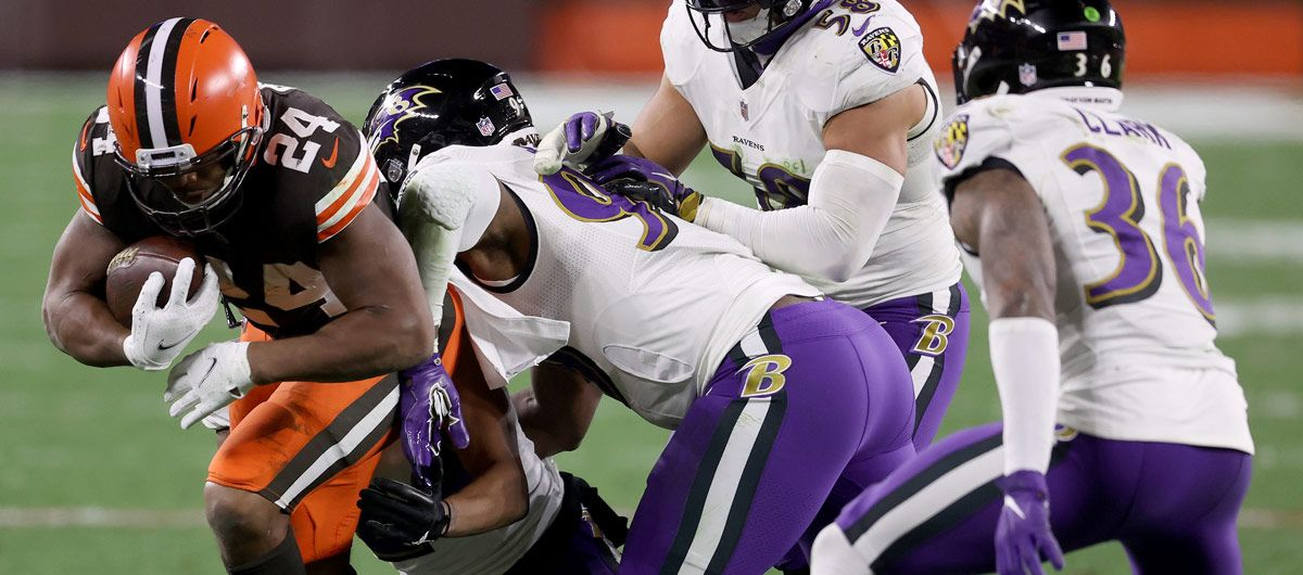 Week 14: Neun Rushing Touchdowns bei Ravens at Browns - Bildquelle: Getty