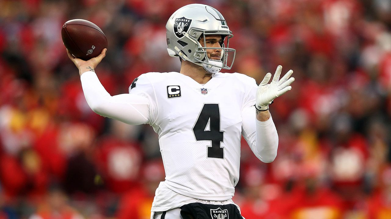 Derek Carr - Bildquelle: 2018 Getty Images
