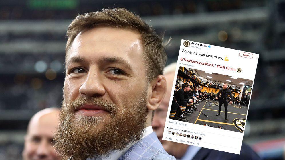 Emotionale Ansprache: Conor McGregor. - Bildquelle: 2018 Getty Images