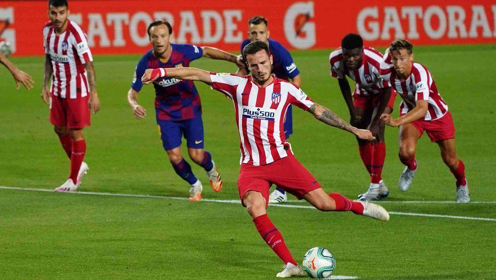 Das Kracher-Duell: FC Barcelona gegen Atletico Madrid. - Bildquelle: imago