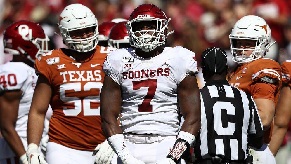 Verpasst das College-Halbfinale bei LSU wohl gesperrt: Defensive End Ronnie ... - Bildquelle: Getty Images