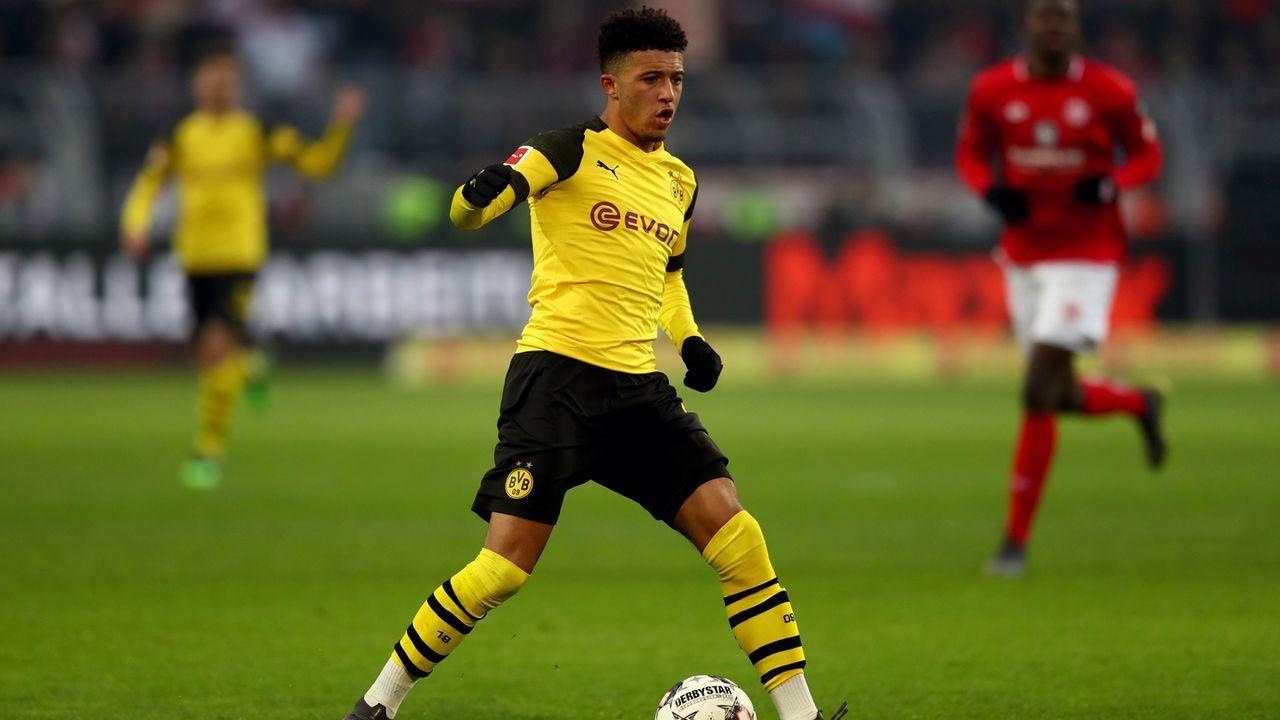 Jadon Sancho (Borussia Dortmund/Deutschland) - 26 Scorerpunkte - Bildquelle: 2019 Getty Images