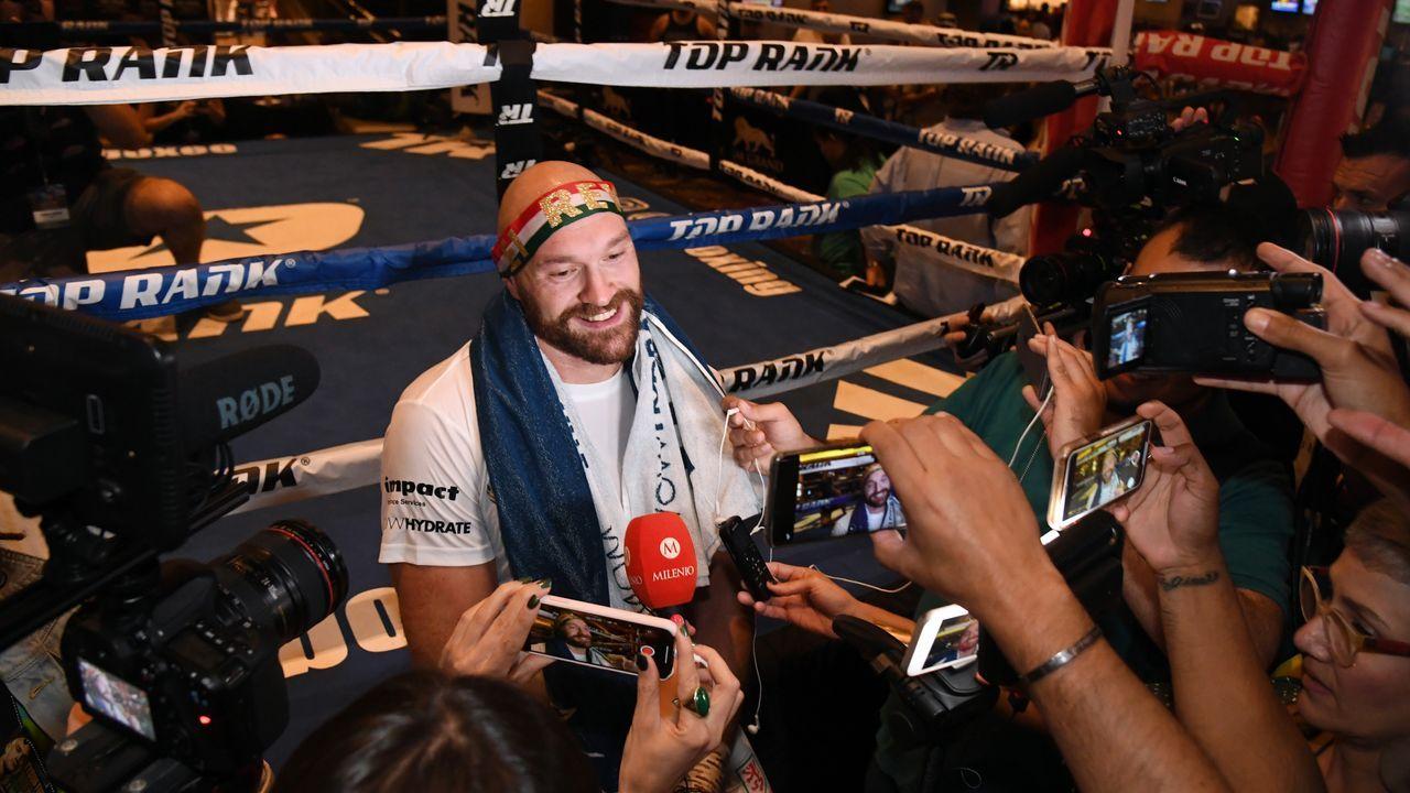 Box-Star geht fremd: Tyson Fury vor Wrestling-Debüt - Bildquelle: getty images