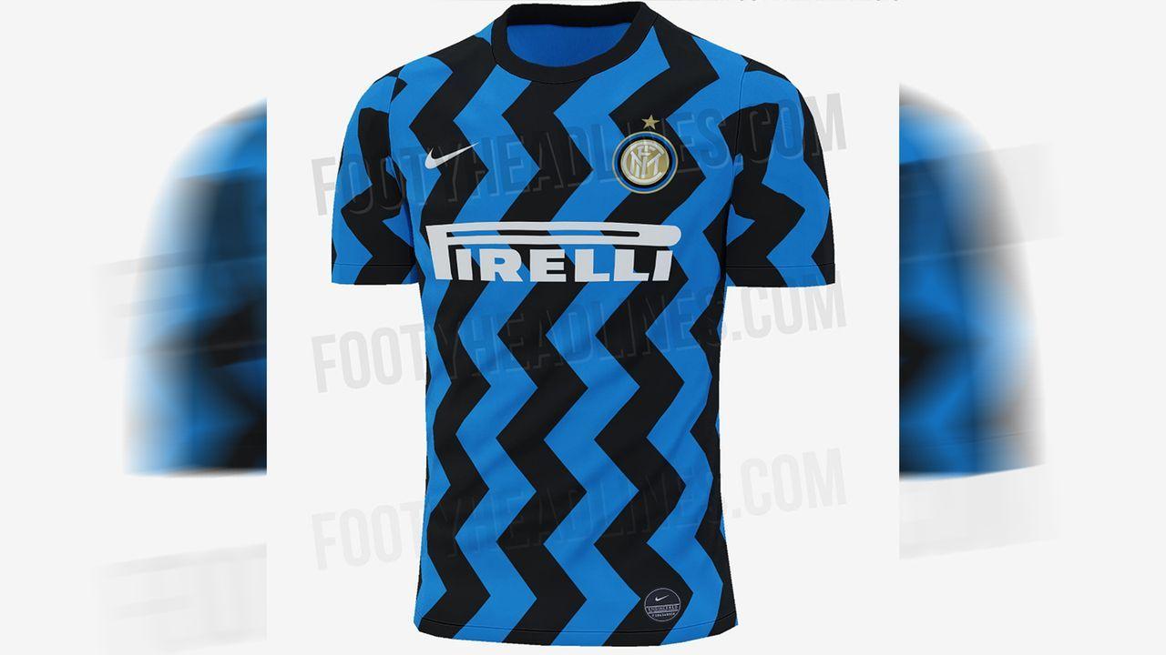 Inter Mailand (Heimtrikot) - Bildquelle: twitter@Footy_Headlines