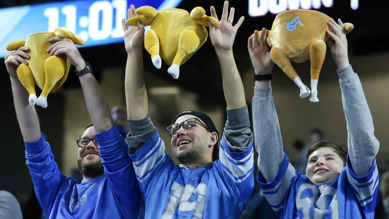 Lions-Fans hoffen auf Super-Bowl-Sieg: Monster-Gewinn wartet - Bildquelle: imago