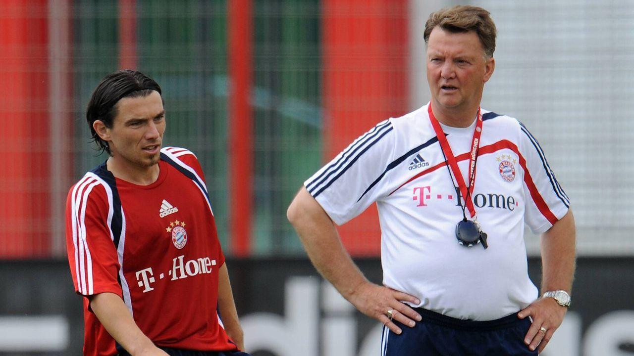Louis van Gaal und Danijel Pranjic - Bildquelle: imago sportfotodienst