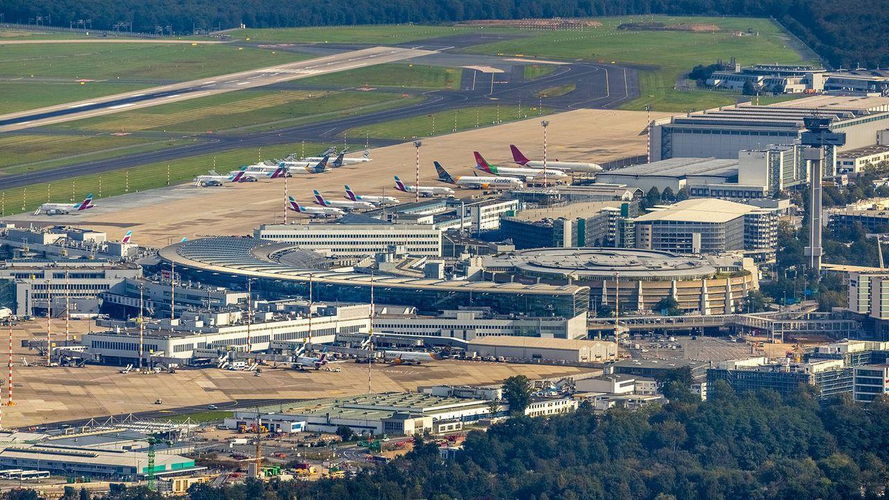 Düsseldorf Flughafen - Bildquelle: imago images/Hans Blossey