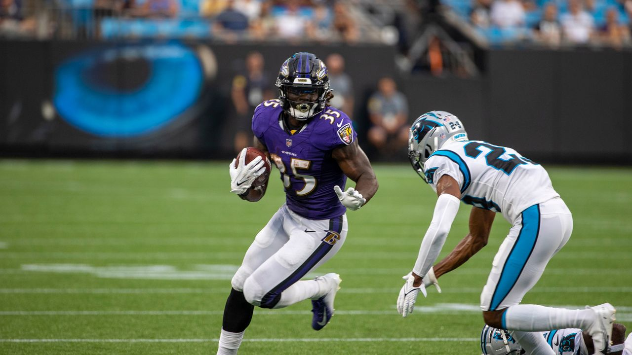 Gus Edwards (Baltimore Ravens) - Bildquelle: 2021 Getty Images