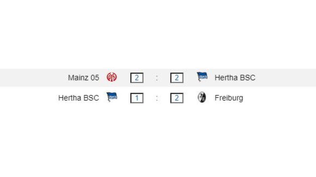 Nachholspiele von Hertha BSC - Bildquelle: ran.de