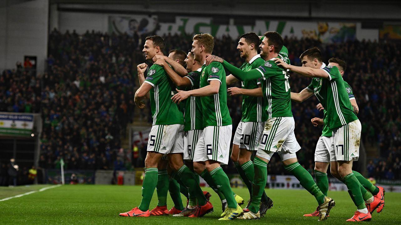 Nordirland (Platz 2 in Gruppe C mit zwölf Punkten) - Bildquelle: 2019 Getty Images