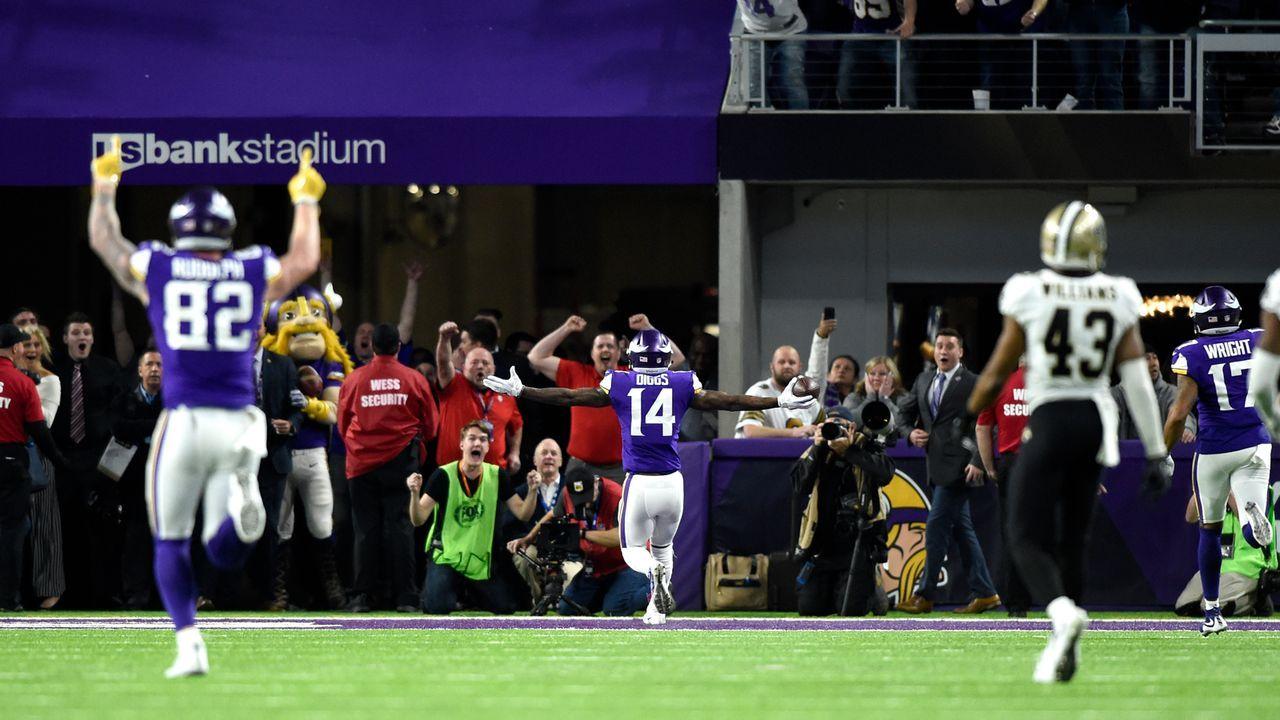Platz 13: Minnesota Vikings - Bildquelle: 2018 Getty Images