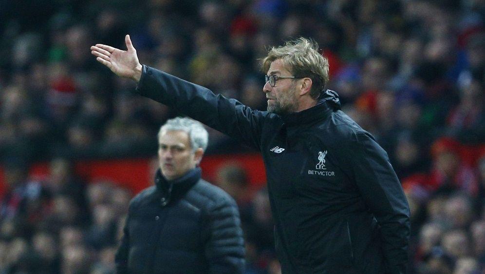 Klopp (r.) und Mourinho duellierten sich schon öfters - Bildquelle: FIROFIROSID