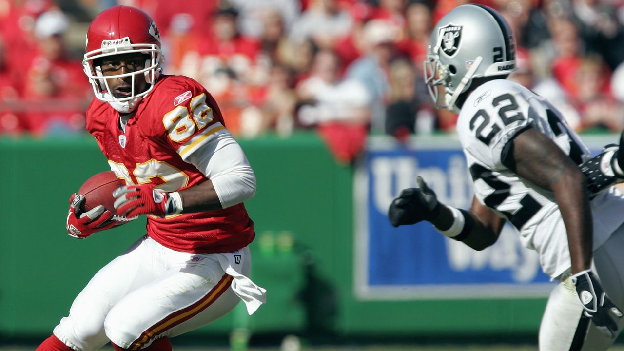 Platz 8: Dante Hall - Bildquelle: 2005 Getty Images
