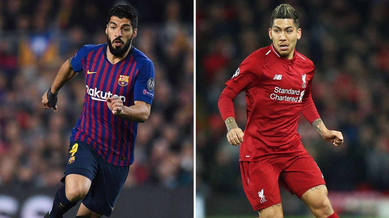 Mittelstürmer: Luis Suarez vs. Robert Firmino - Bildquelle: Getty Images