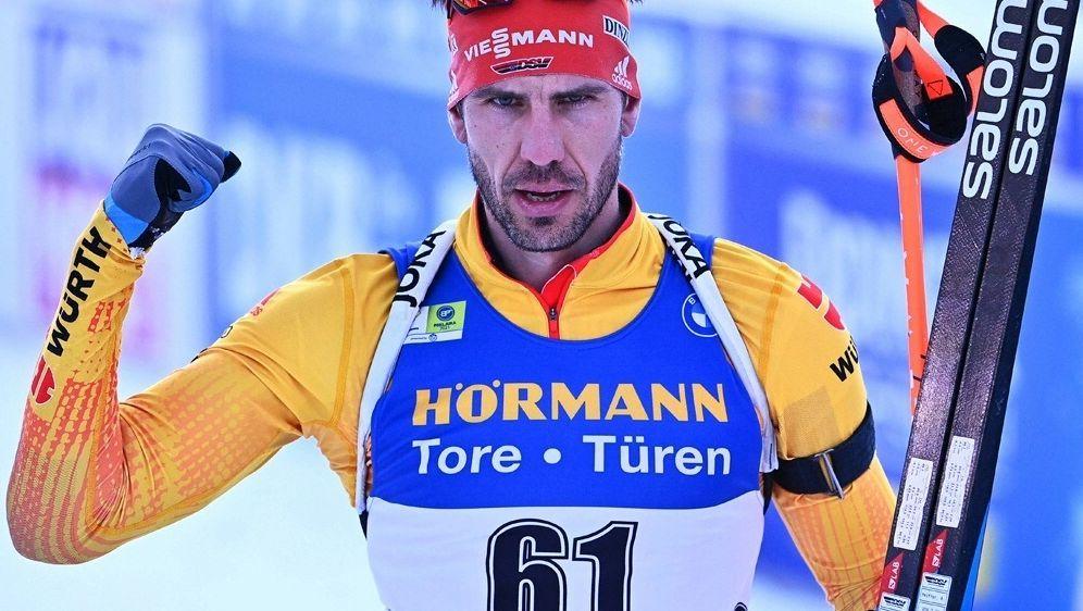 Arnd Peiffer wird Experte in der ARD Sportschau - Bildquelle: AFP/SID/JOE KLAMAR