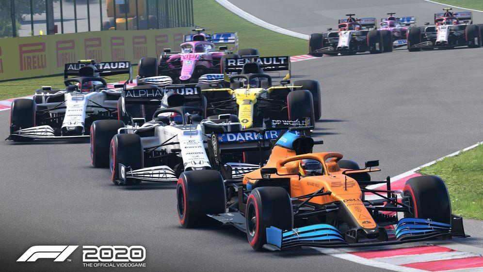 F1 2020 ist der neueste Teil der Formel-1-Rennspielserie von Codemasters. - Bildquelle: Codemasters