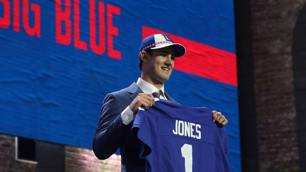 Ist Daniel Jones der erhoffte Quarterback der Zukunft für die New York Giant... - Bildquelle: imago images / Icon SMI