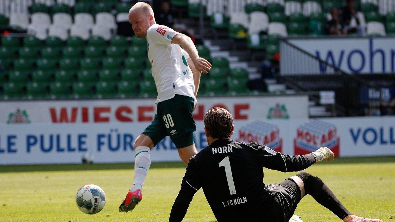 55. Minute: Die Werder-Maschine läuft weiter und weiter - Bildquelle: Imago