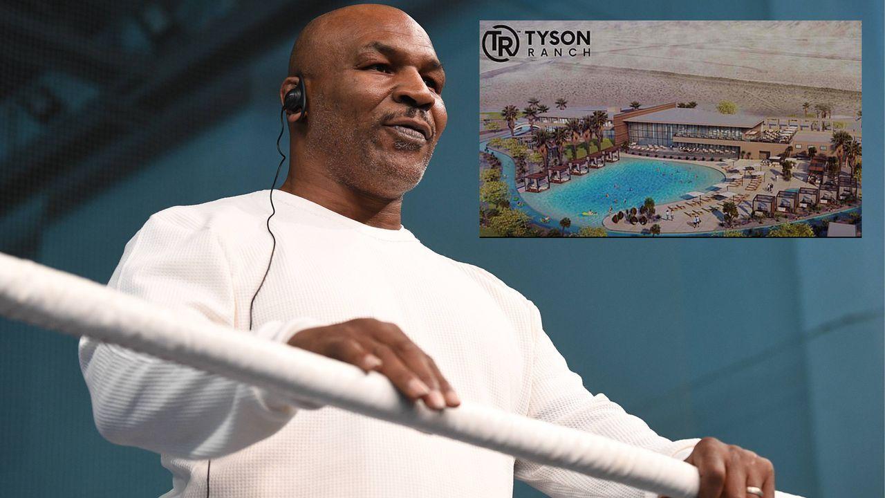 Mike Tyson baut Cannabis-Hotel - Bildquelle: imago/ITAR-TASS / Screen