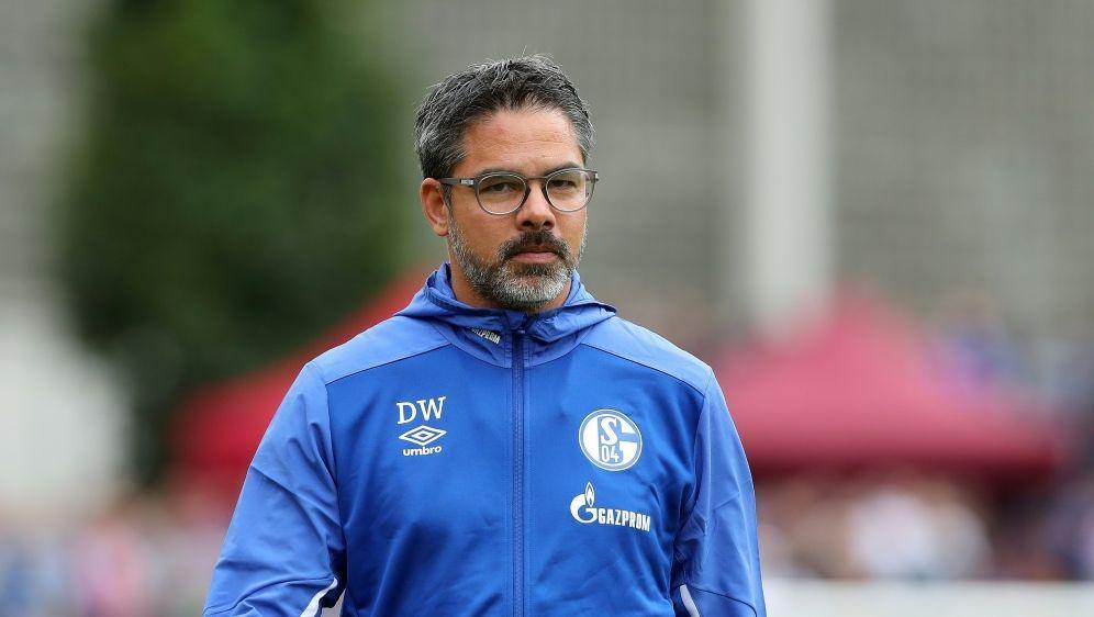 Gibt keine großen Ziele aus: Trainer David Wagner - Bildquelle: FIROFIROSID