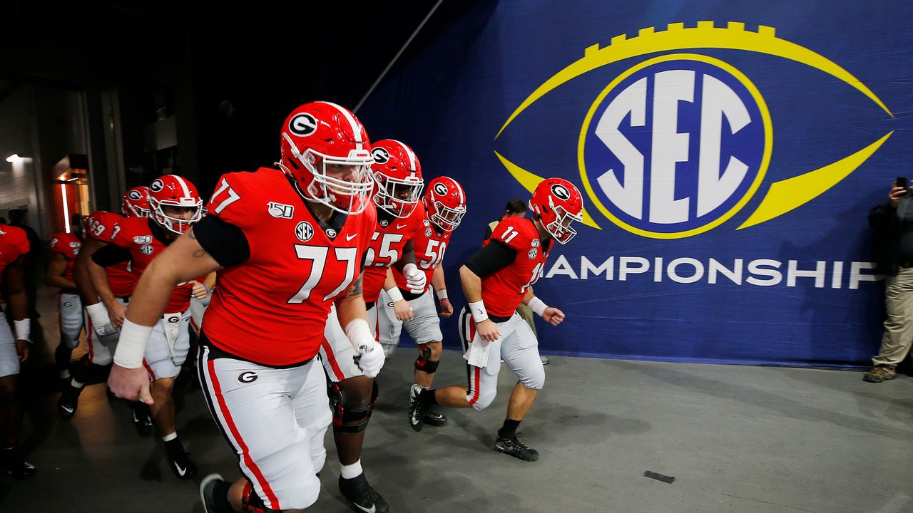 SEC mit den meisten Spielern in erster Runde - Bildquelle: 2019 Getty Images