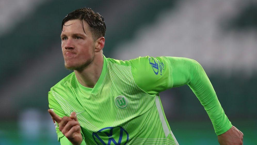 Wout Weghorst trifft zum 2:0 Sieg gegen Mainz 05 - Bildquelle: AFPSIDRONNY HARTMANN