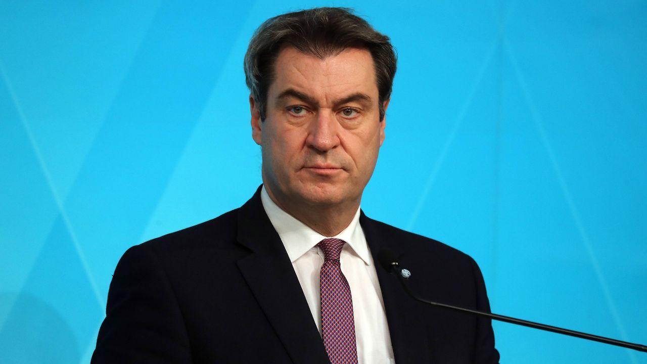 Markus Söder (Bayerns Ministerpräsident) - Bildquelle: imago images/Sammy Minkoff