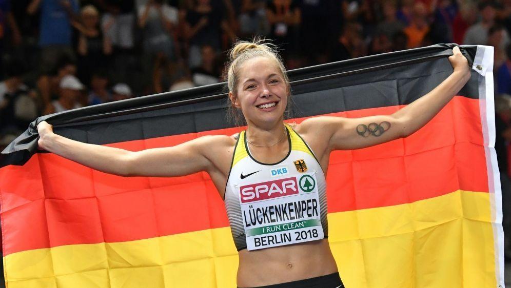 Gina Lückenkemper ist zufrieden mit Wechsel in die USA - Bildquelle: AFPSIDANDREJ ISAKOVIC