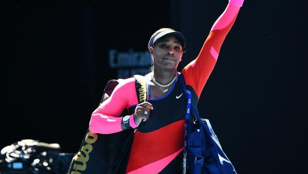 Tennisstar Serena Williams unterstützt Herzogin Meghan - Bildquelle: AFPSIDWILLIAM WEST
