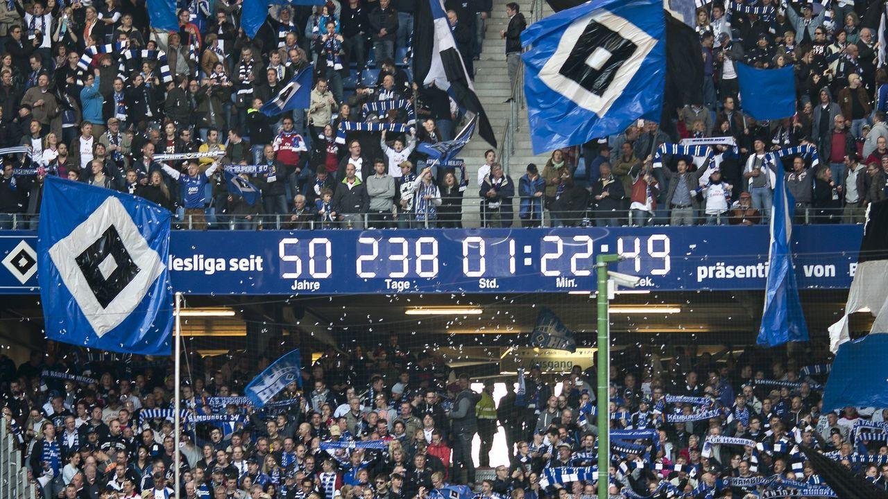 Platz 4 in der ewigen Tabelle: Hamburger SV - Bildquelle: imago/Baering