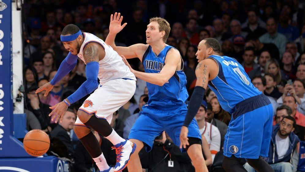 Nowitzki (m.) denkt gerne an die Zeit in der NBA zurück - Bildquelle: AFPSIDSTAN HONDA